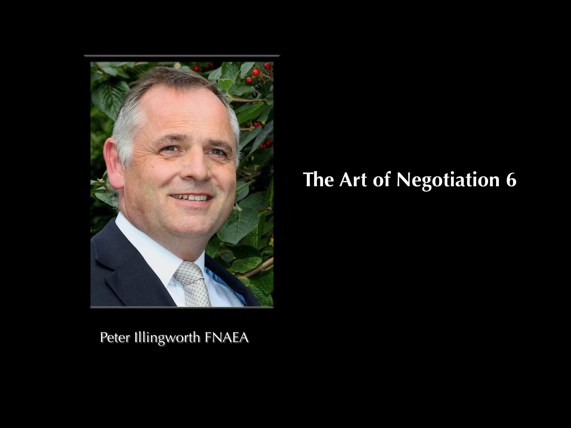 The Art of Negotiation 6