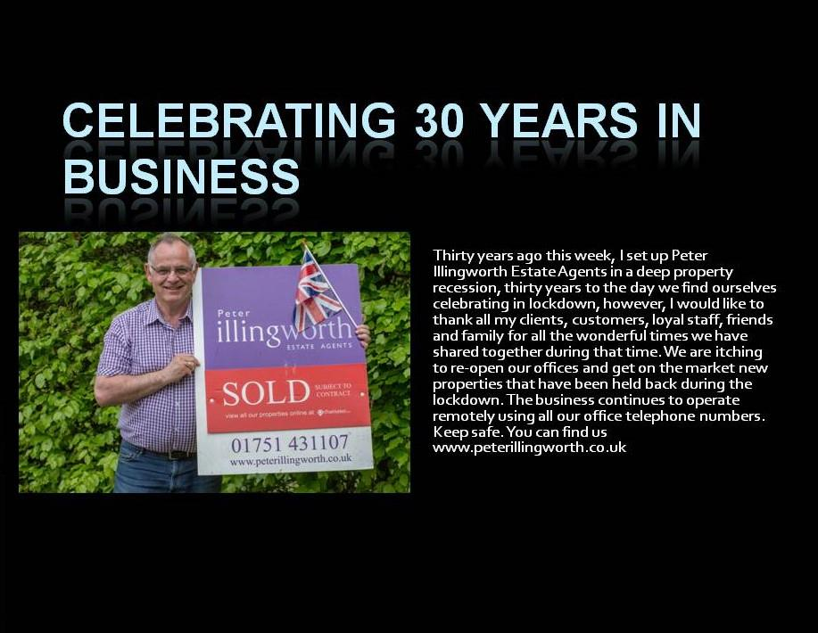 Thirty years in business